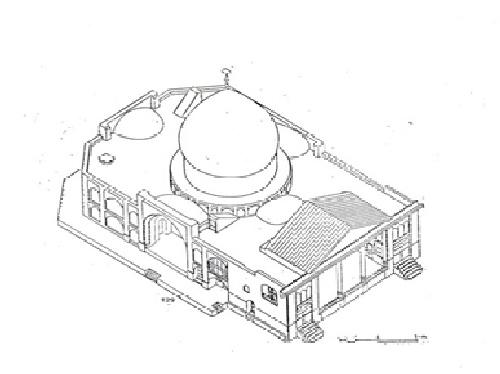 تحقیق مرمت ابنيه تاریخی - مسجد سرقبرآقا